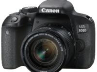 佳能发布普及型数码单反相机EOS 800D