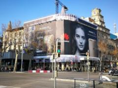 P10广告现身 华为徕卡标志刷遍巴塞罗那