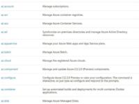 微软Azure CLI 2.0可用性提升 体验增强