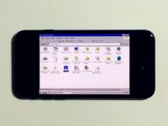 iPhone7可以跑Windows XP:效果很感人
