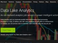 Azure数据湖分析和数据湖store在欧商用