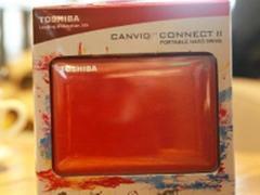 外观与实用性兼备 东芝 V8 CANVIO 热销
