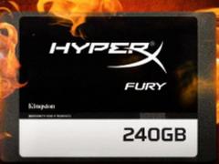 纤薄外观,强悍性能 金士顿HyperX FURY