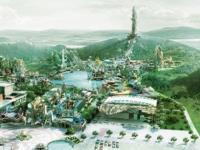 环球动漫嬉戏谷乐园索尼投影机案例探访