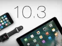 苹果正式关闭iOS10.2和iOS10.3验证通道