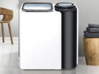分类清洗更健康 海尔推出子母机洗衣机