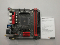 华擎展示X370/B350 Mini-ITX主板