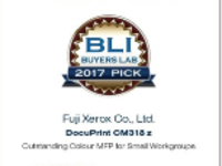 富士施乐一体机获2017年BLI年度之选大奖
