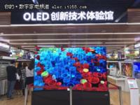改变生活方式 OLED创新技术体验馆