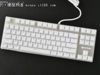 唯美冰晶键帽 雷柏V500S冰晶版机械键盘现货热销中