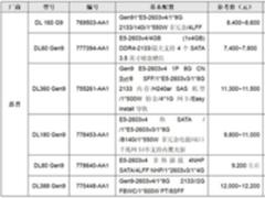 服务器价格指导7月双路机架产品导购