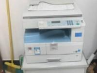 理光1911复合机打印文档背面黑印脏污问题解决