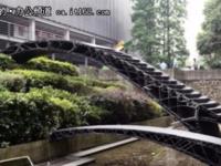 3D打印了两座人行天桥却不能走,你咋看?