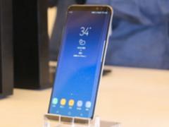 手机也要拼颜值 雾屿蓝三星盖乐世S8+伴你清凉一夏