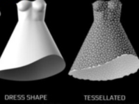 带你亲临时尚圈 各种3D打印连衣裙让你大饱眼福