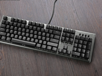 RGB灯带成外设新潮流 狼蛛守望者机械键盘简评