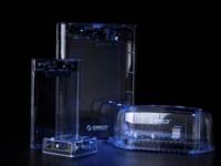 ORICO把电脑配件做成全透明 还成系列?