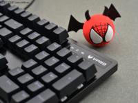 原厂轴的信仰 雷柏V805背光游戏机械键盘评测