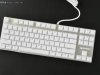 颜值即是正义 七夕她与雷柏V500S冰晶版机械键盘更配