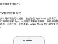 App Store支持微信支付 去年接入支付宝