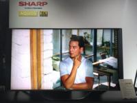 大开眼界 夏普消费级8k新品电视即将发布