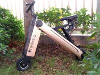 卡西威尔智能折叠电动车升级版测评