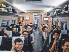 阿里包下14列高铁接外地员工:堪比春运
