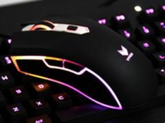明明有颜值、偏偏靠才华 雷柏V29S炫彩游戏鼠标初体验
