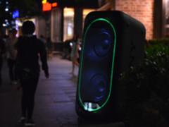 音符与色彩激情碰撞 索尼GTK-XB60音箱体验