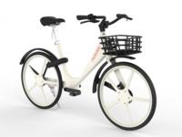 摩拜第四代共享单车发布 号称单车界最轻