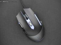 幻彩RGB背光 雷柏V302游戏鼠标仅售129元