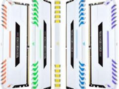 美商海盗船推出白色VENGEANCE RGBDDR4内存