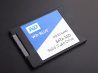 64层堆叠 WD Blue 3D NAND SSD 1TB评测