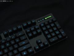 首次搭载欧姆龙轴 雷柏V806机械键盘评测
