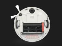 胆大心细 使用2年的扫地机器人首拆清洁体验
