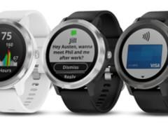 Garmin 发布 vívoactive 3运动手表!