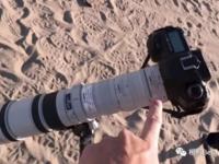 佳能400mm镜头搭配增距镜 拍摄超级月亮