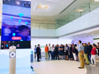 香港城大EMBA校友团访ivvi 计算视觉受关注