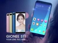四摄全面屏本月发布 金立S11泰国广告片曝光