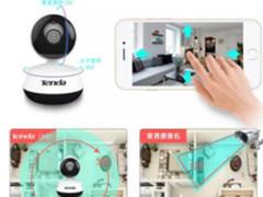 腾达QQ物联安全摄像头C60+加密传输实时监控