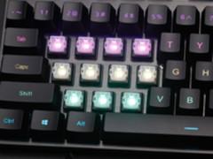 雷柏V806幻彩RGB背光游戏机械键盘CS:GO体验