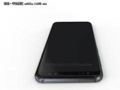 依然还是背后指纹设计 三星S9渲染图曝光