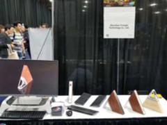 区块链新势力 三角形主机首次亮相CES2018