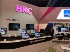HKC携多款智能LED大屏电视亮相CES2018