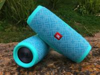 泡水也不怕 JBLGE3翡冷翠无线蓝牙音箱试玩
