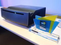 戴尔5000流明4K短焦激光投影亮相于CES