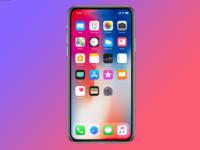 更全面屏 iPhone X刘海有望在2019年缩小