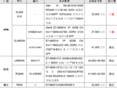 服务器价格指导  1月四路机架产品选购