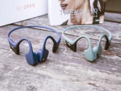 不用耳朵能听歌?体验韶音TREKZ AIR耳机