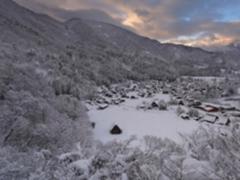 索尼微单A7RM3    记录白川乡雪后初晴